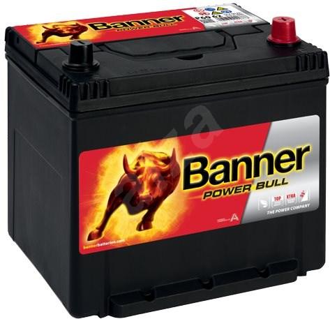 BANNER Power Bull 60Ah, 12V, P60 62 - Car Battery