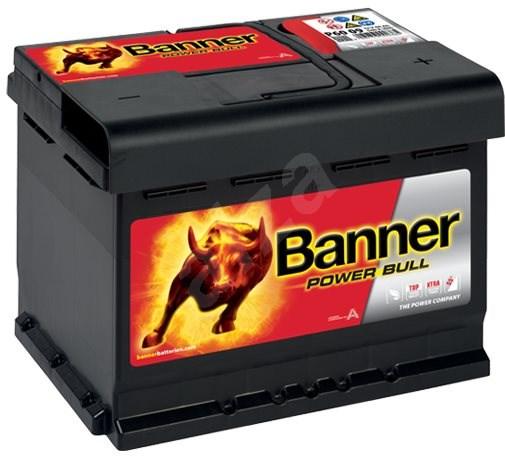 BANNER Power Bull 60Ah, 12V, P60 09 - Car Battery