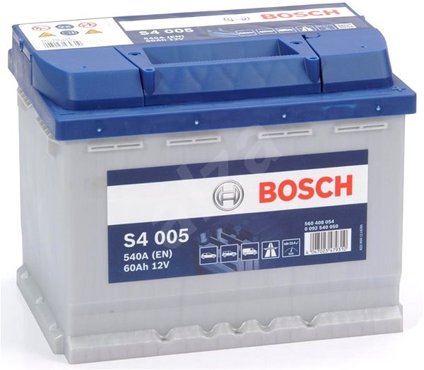 BOSCH S4 005, 60Ah, 12V (0 092 S40 050) - Car Battery