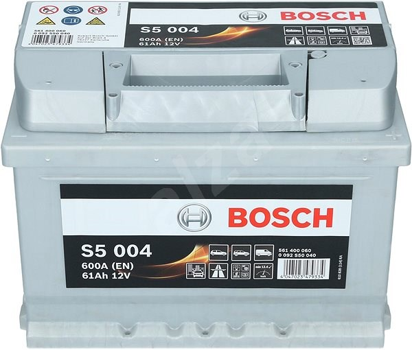 BOSCH S5 004, 61Ah, 12V (0 092 S50 040) - Autobaterie