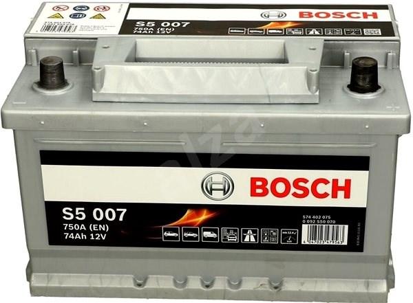 BOSCH S5 007, 74Ah, 12V (0 092 S50 070) - Autobaterie