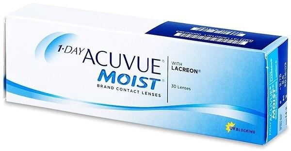 Acuvue Moist 1 Day (30 čoček) dioptrie: -2.25, zakřivení: 8.50 - Kontaktní čočky