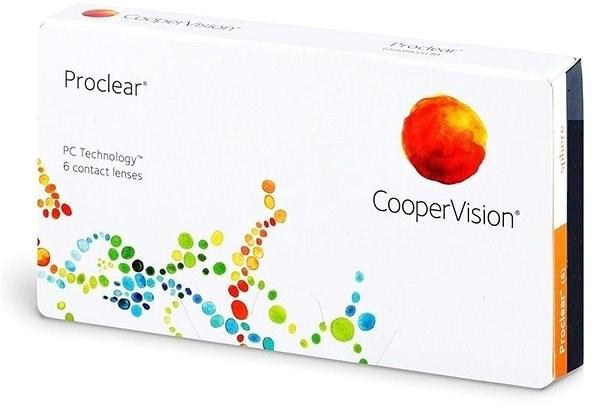 Proclear (6 čoček) dioptrie: -1.25, zakřivení: 8.60 - Kontaktní čočky