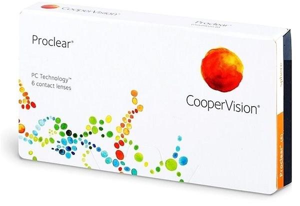 Proclear (6 čoček) dioptrie: -6.00, zakřivení: 8.60 - Kontaktní čočky
