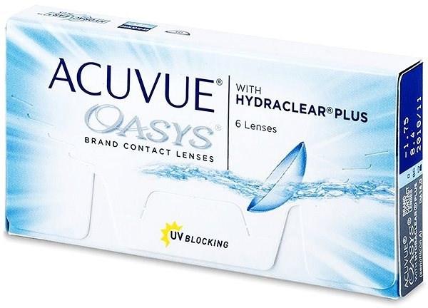Acuvue Oasys with Hydraclear Plus (6 čoček) dioptrie: -9.50, zakřivení: 8.40 - Kontaktní čočky