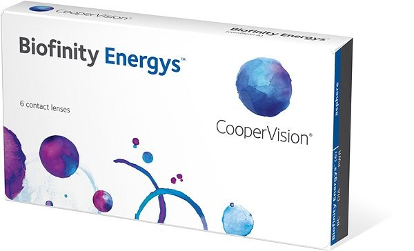 Biofinity Energys (6 čoček) dioptrie: +3.00, zakřivení: 8.60 - Kontaktní čočky