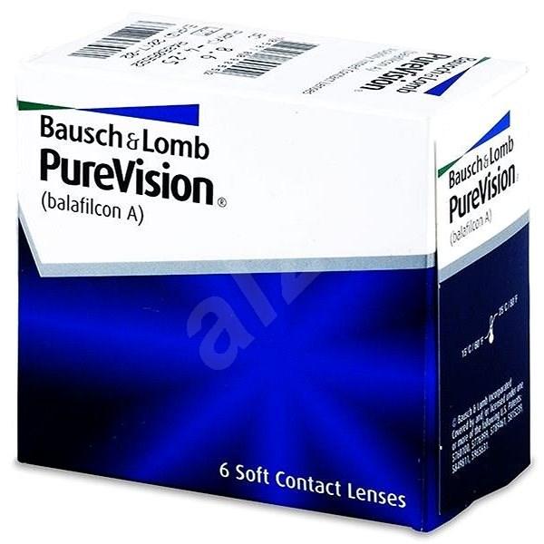 PureVision (6 čoček) dioptrie: -3.50, zakřivení: 8.60 - Kontaktní čočky