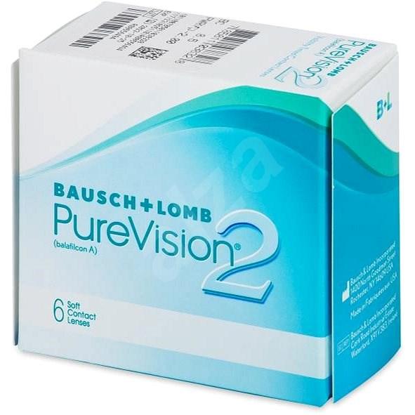 PureVision 2 HD (6 čoček) dioptrie: -0.75, zakřivení: 8.60 - Kontaktní čočky