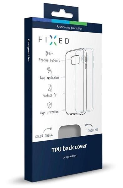 FIXED pro Samsung Galaxy J3 (2017) čirý - Kryt na mobil