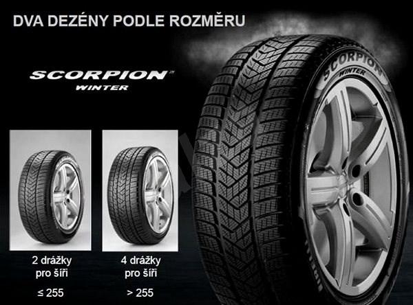 Pirelli SCORPION WINTER 265/50 R19 110 V zimní - Zimní pneu