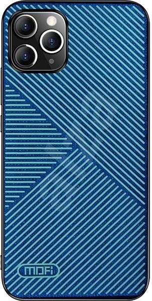 MoFi Anti-slip Back Case Strip iPhone 11 Modré - Kryt na mobil