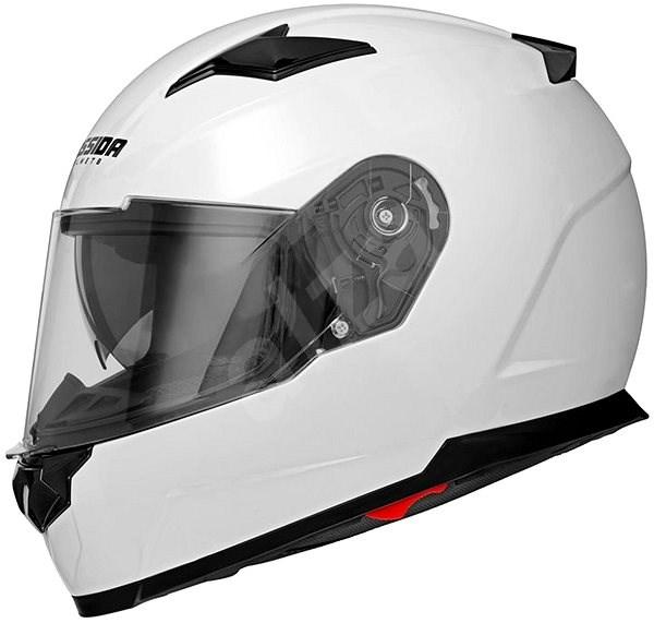 CASSIDA Apex (bílá, vel. 2XL) - Helma na motorku