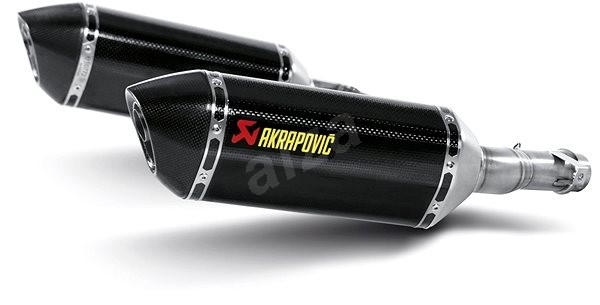 Akrapovič karbonová koncovka výfuku pro Kawasaki Z 1000/SX, Ninja 1000 (10-13) - Koncovka výfuku