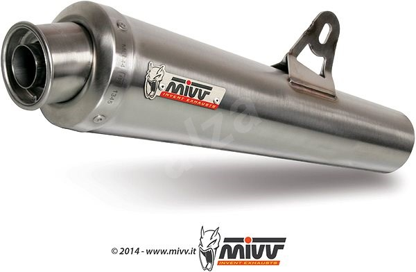 Mivv X-Cone Stainless Steel pro Aprilia RSV 1000 (2004 > 2008) - Koncovka výfuku