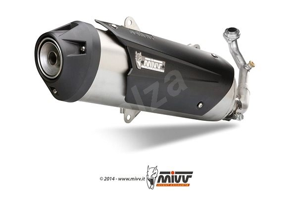 MIVV KYMCO XCITING 250 (2006 > 2007) - Exhaust system