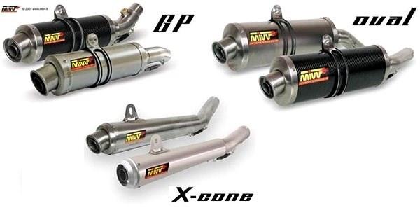 MIVV GILERA NEXUS 300 (2008 > 2013) - Výfukový systém