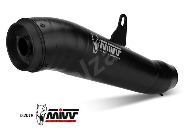 Mivv Ghibli Black Stainless Steel pro Honda CB 1000 R (2008 > 2016) - Koncovka výfuku
