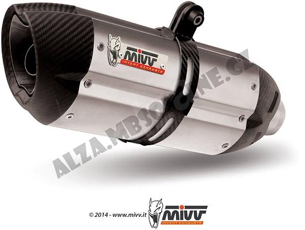 Mivv Suono Stainless Steel / Carbon Cap pro Kawasaki Z 1000 (2010 > 2013) - Koncovka výfuku