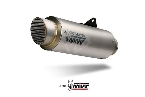 Mivv GP Pro Titanium pro Kawasaki ZX-10 R (2016 >) - Koncovka výfuku