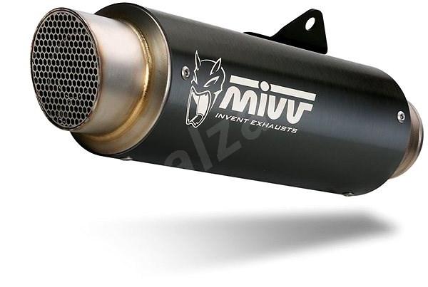 Mivv GP Pro Black Stainless Steel pro Kawasaki Z900 RS (2018 >) - Koncovka výfuku