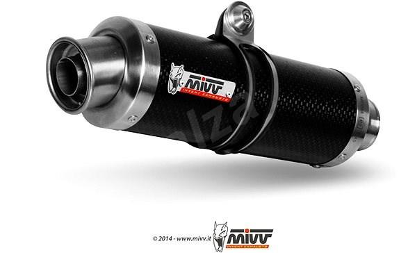 Mivv Round Carbon pro KTM LC8 950 Adventure (2003 > 2005) - Koncovka výfuku