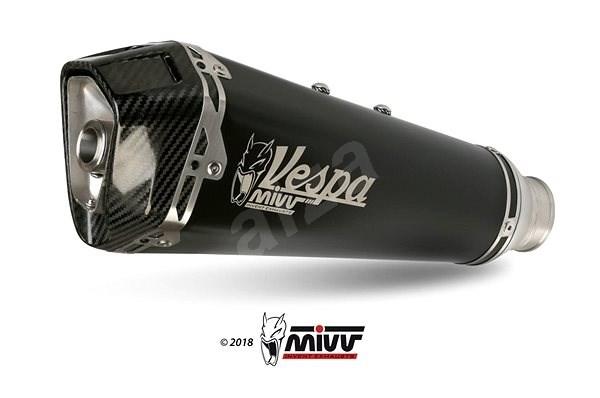 MIVV PIAGGIO VESPA GTS 300 (2008 >) - Exhaust system