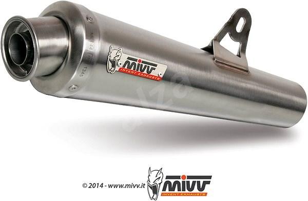 Mivv X-Cone Stainless Steel pro Suzuki GSF 650 Bandit (2005 > 2006) - Koncovka výfuku