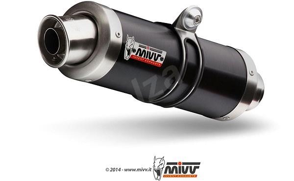 Mivv GP Black Stainless Steel pro Triumph Speed Triple (2007 > 2010) - Koncovka výfuku