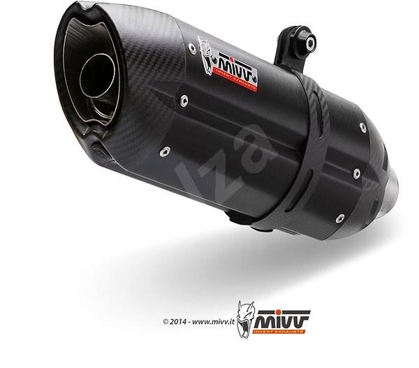 Mivv Suono Black Stainless Steel for Yamaha FZ1 / FZ1 Fazer (2006 > 2016) - Exhaust Tail Pipe