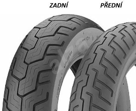 Dunlop D404 130/90 -16 67 S - Motopneu