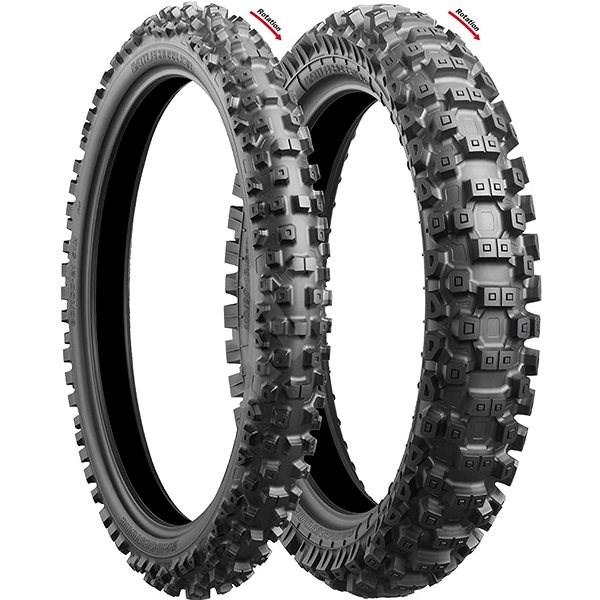 Bridgestone Battlecross X30 100/90 -19 57 M - Motorbike Tyres