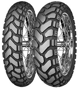 Mitas E-07 + Dakar 110/80/19 TL, F, Stripe 59 T - Motorbike Tyres