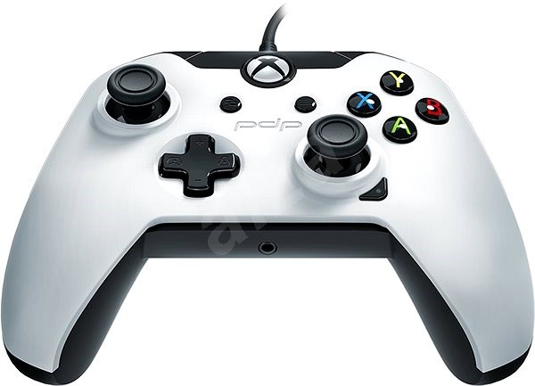 PDP Wired Controller - bílý - Xbox One - Gamepad