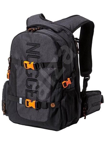 Nugget Arbiter 5 Backpack Heather Charcoal/Black - Městský batoh
