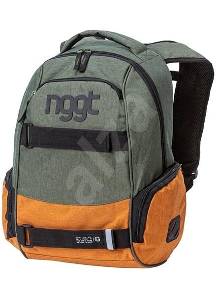 Nugget Bradley 3 Backpack Heather Military/Heather Camel - Městský batoh