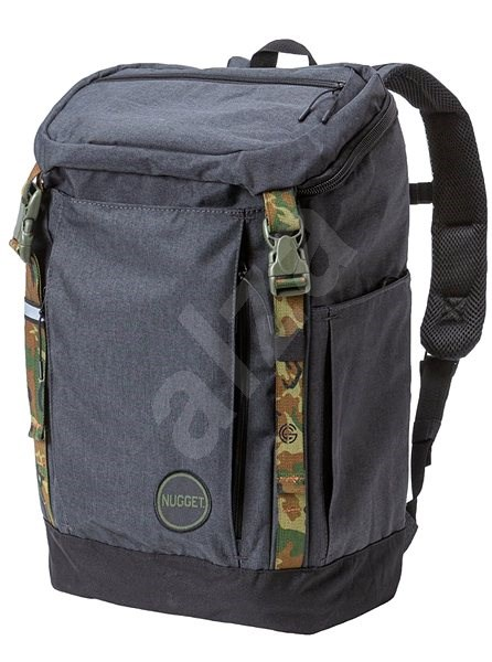 Nugget Mesmer 2 Backpack Heather Charcoal/Black - Městský batoh