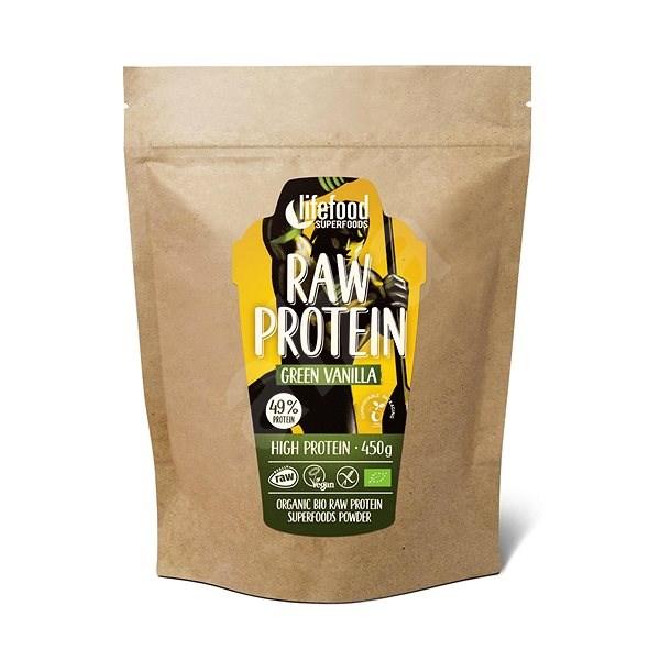 Lifefood Raw protein BIO, 450g, vanilkový - Protein