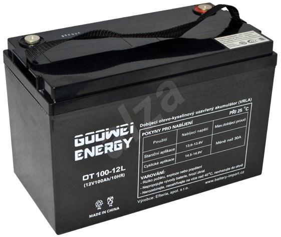 GOOWEI ENERGY OTL100-12, baterie 12V, 100Ah, DEEP CYCLE - Trakční baterie