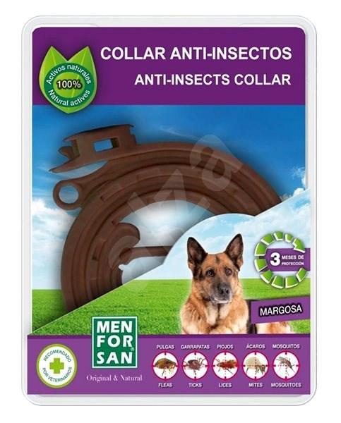 Menforsan Přírodní antiparazitní obojek pro psy 1 ks - Antiparazitní obojek