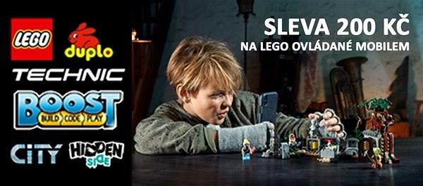 Dárkový poukaz na nákup produktů řady LEGO Hidden Side v hodnotě 200 Kč - Poukaz