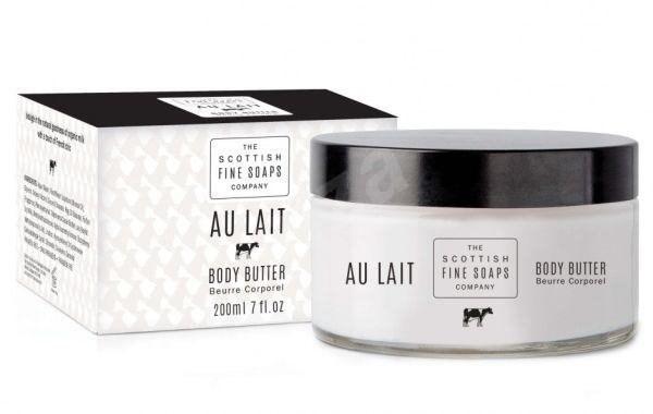 SCOTTISH FINE SOAPS Tělové máslo v dóze Au Lait 200 ml - Tělové máslo