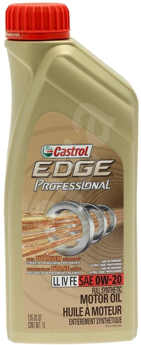 castrol edge titanium professional ll iv fe 0w 20 1l. Black Bedroom Furniture Sets. Home Design Ideas