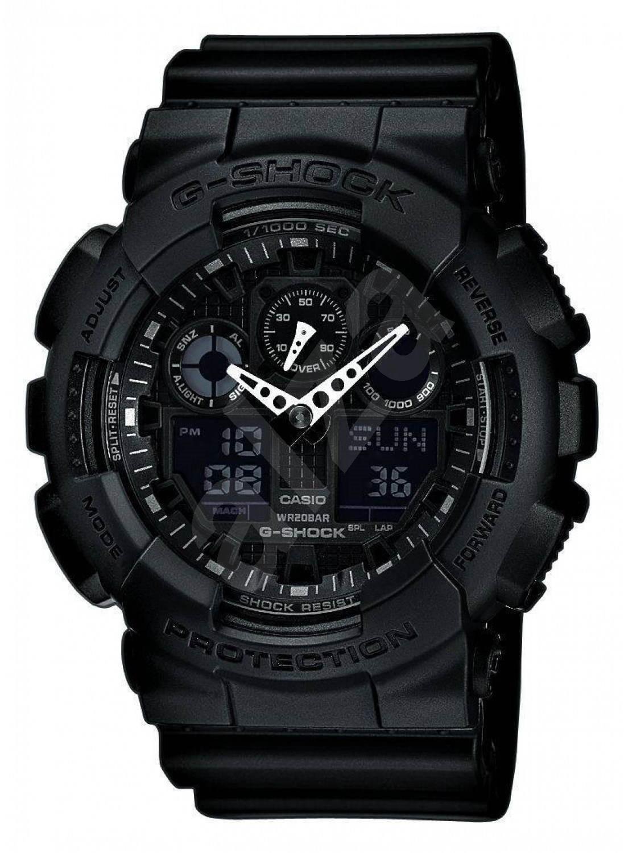 CASIO G-SHOCK GA 100-1A1 - Pánské hodinky ... 3bd0c16d10
