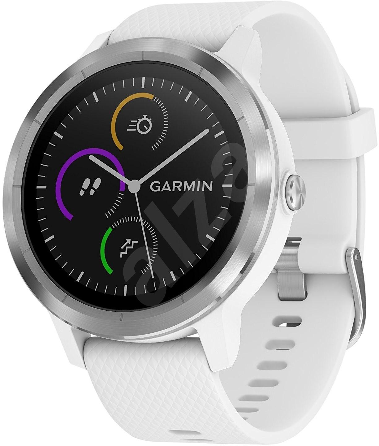 a80c6b7eab Garmin vívoactive 3 White Silver - Chytré hodinky