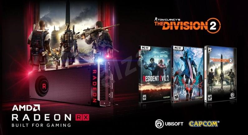 Akce AMD v podobě her zdarma pro Radeon RX karty.
