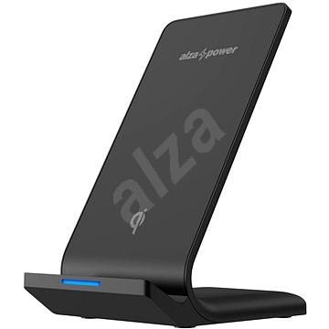 AlzaPower WF210 Wireless Fast Charger černá - Bezdrátová nabíječka