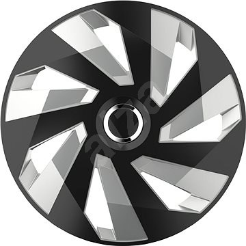 "VERSACO VECTOR RC 15"" black/silver - Poklice na kola"