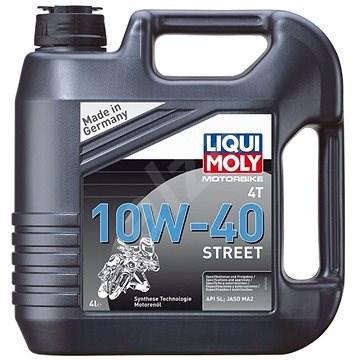 Liqui Moly Motorový olej Motorbike 4T 10W-40 Street, 4 l - Motorový olej