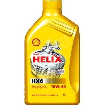 SHELL HELIX HX6 10W-40 1l - Motorový olej