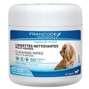 Francodex ubrousky víceúčelové pes 50ks - Hygienické ubrousky pro psy